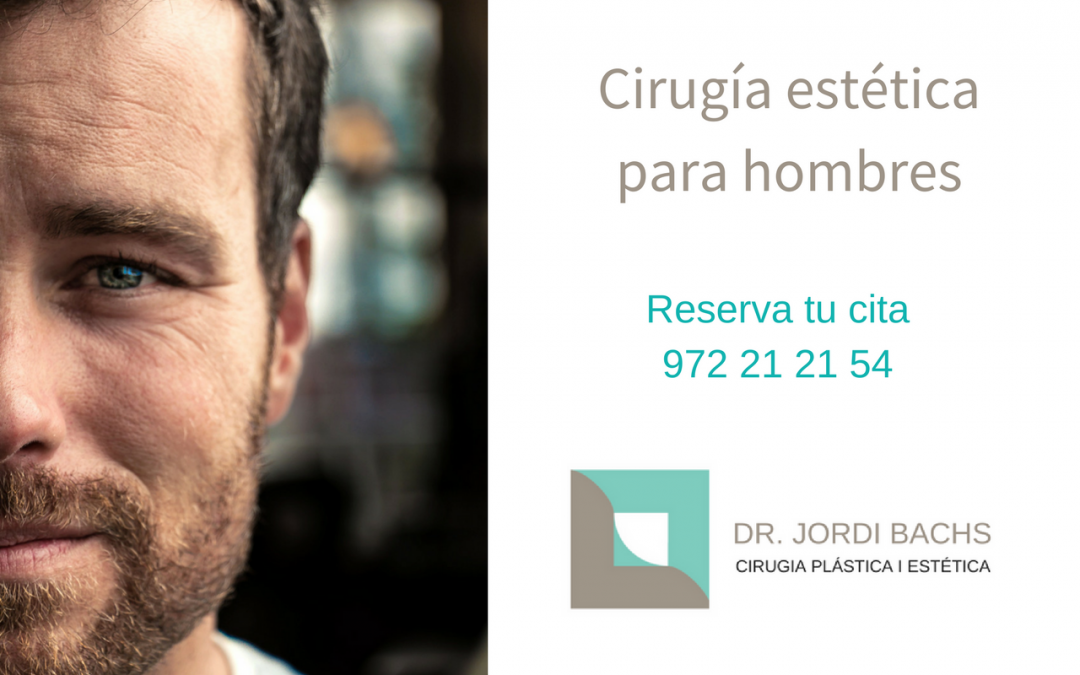 Las intervenciones de cirugía estética más demandadas por hombres