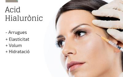 Tractament d'àcid hialurònic per a arrugues facials