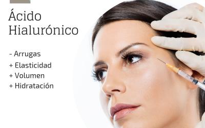 Tratamiento de ácido hialurónico para arrugas faciales
